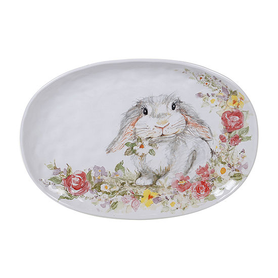 Certified International Sweet Bunny Serving Platter