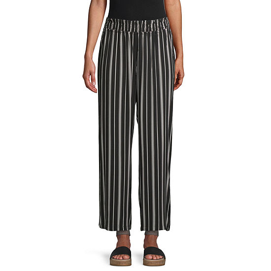 Society And Stitch-Juniors Womens Straight Pull-On Pants