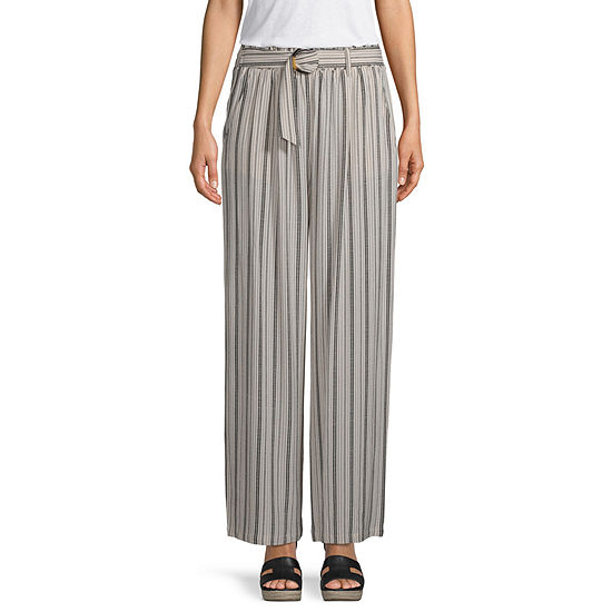 Rewind Womens Flare Pull-On Pants - Juniors