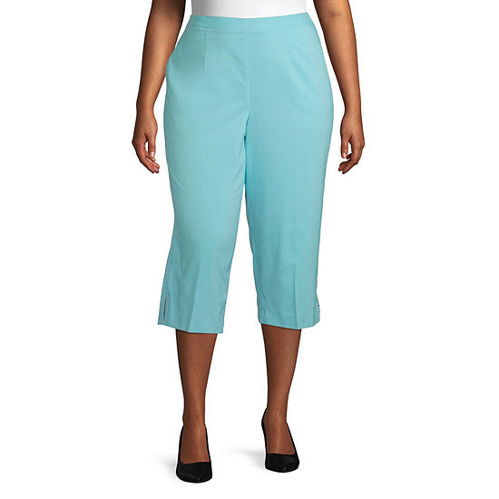 Alfred Dunner Sea You There Plus Capris