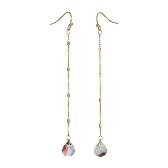 Mixit Resin Drop Earrings