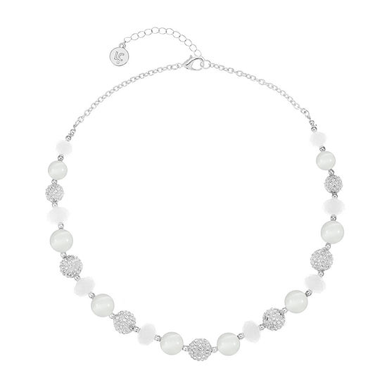 Liz Claiborne 18 Inch Cable Round Collar Necklace
