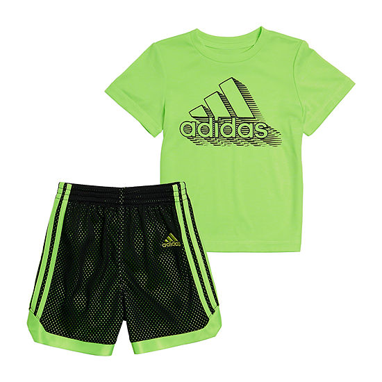 adidas Toddler Boys 2-pc. Short Set