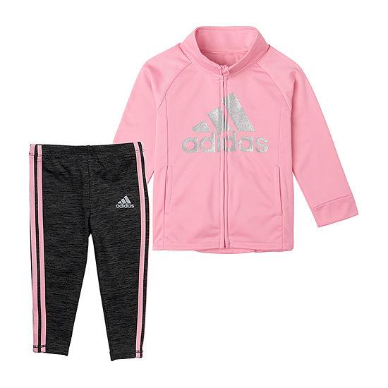 adidas-Toddler Girls 2-pc. Legging Set