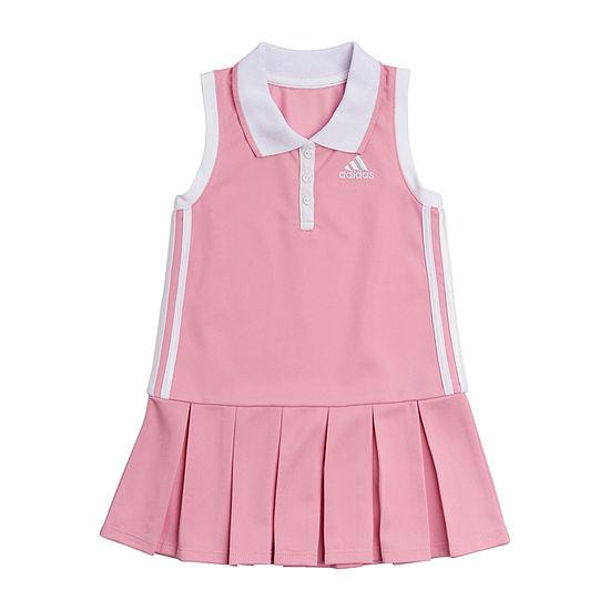 adidas Little Girls 2-pc. Capri Tight Set