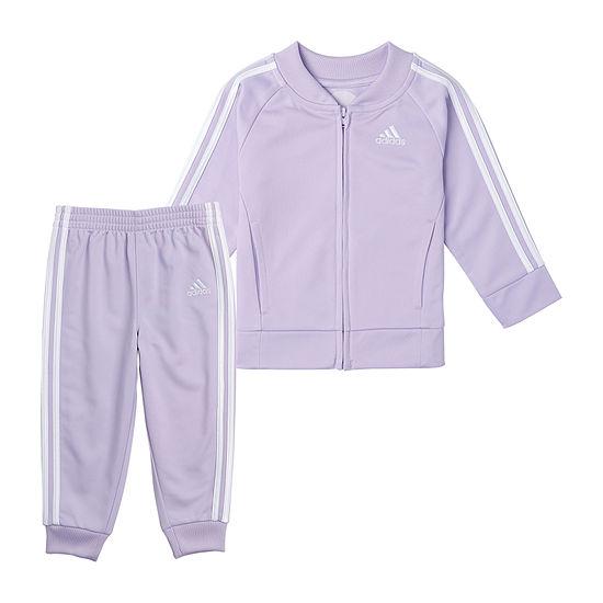 adidas Little Kid Girls 2-pc. Track Suit