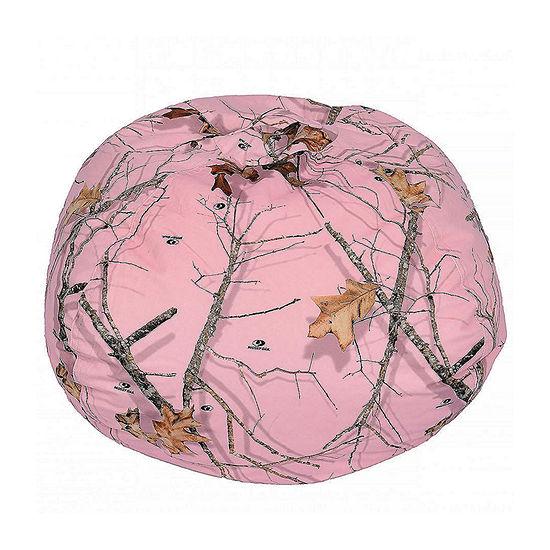 Mossy Oak Pink Bean Bag - Medium