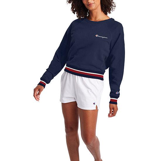 Champion Womens Crew Neck Long Sleeve T-Shirt