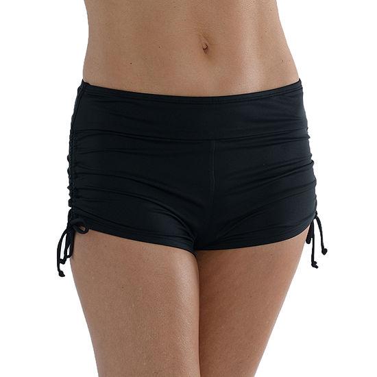Sonnet Shores Side Tie Womens Swim Shorts