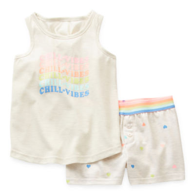 Sleep Chic Mommy & Me Toddler Girls 2-pc. Shorts Pajama Set