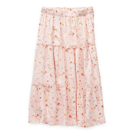 Arizona Little & Big Girls Midi Maxi Skirt
