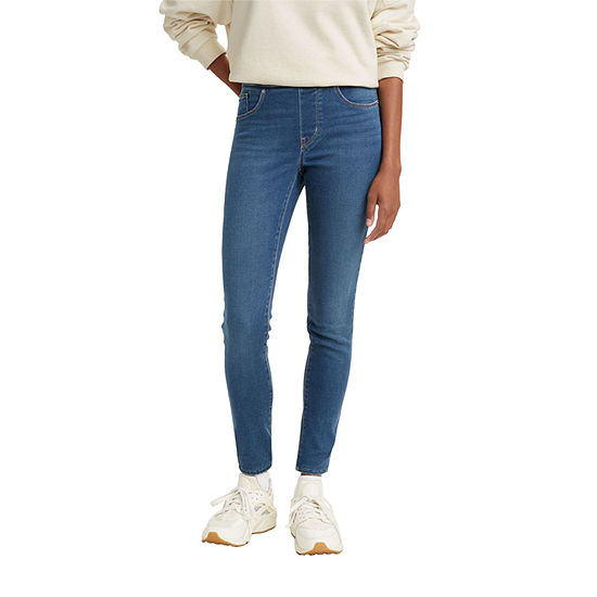 Levi's Shaping Womens Mid Rise Skinny Stretch Jeggings