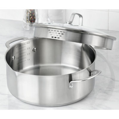 Calphalon® Classic 5-qt. Stainless Steel Dutch Oven