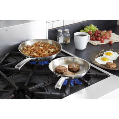Calphalon® Classic 2-pc. Stainless Steel Fry Pan Set