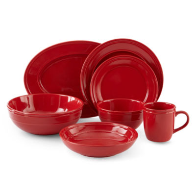 JCPenney Home™ Stoneware Dinnerware Collection  sc 1 st  JCPenney & jcp home Stoneware Core Dinnerware Collection