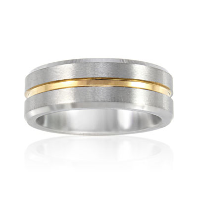 Mens 8mm Tungsten Carbide Comfort Fit Wedding Band Jcpenney