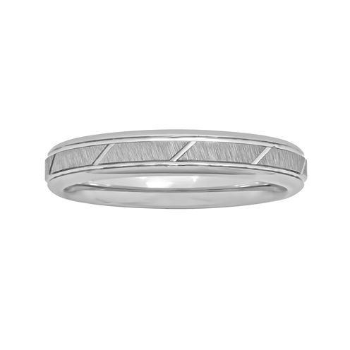 Womens 4mm Tungsten Ring