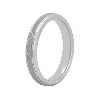 Womens 4mm Tungsten Ring