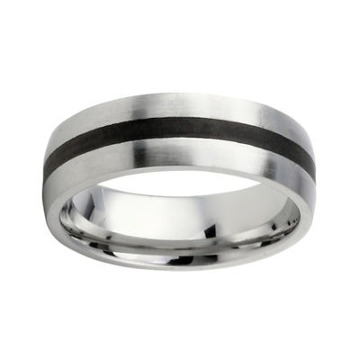Mens Two-Tone Stainless Steel Band