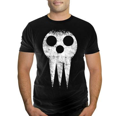 Soul Eater Short-Sleeve Skull Cotton Tee