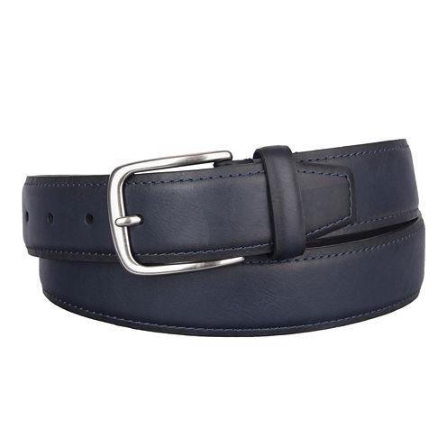 Dockers® Drop Edge Belt with Contrast Stitching - Big & Tall
