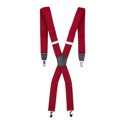 "JF. J Ferrar® 1 1/4"" X-Back Suspenders"
