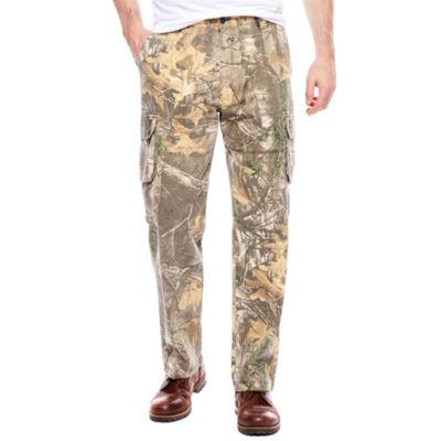 Realtree® Camo Twill Cargo Pants