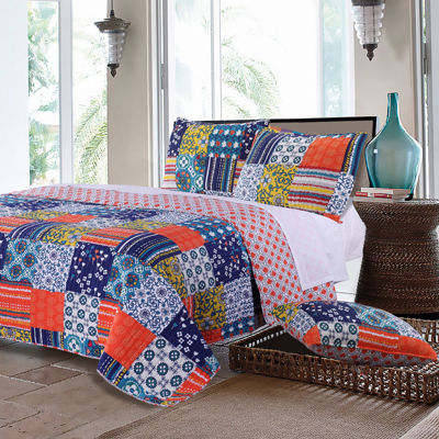 Greenland Home Fashions Arianna Quilt Set