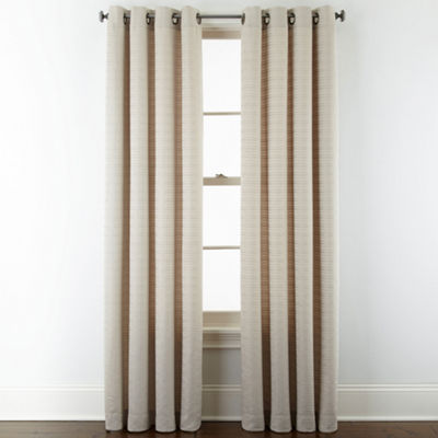 Studio™ Warner Chenille Grommet-Top Curtain Panel