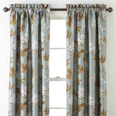 Home Expressions™ Isabelli Faux Silk Rod-Pocket Curtain Panel