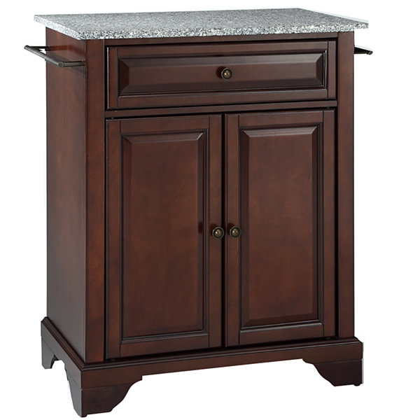 Chatham Small Granite Top Portable Kitchen Island Jcpenney