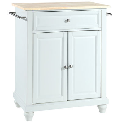 country kitchen pelham pelham small wood top portable kitchen island 2857