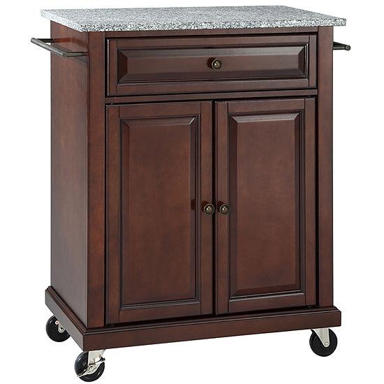 Wellman Granite-Top Kitchen Cart