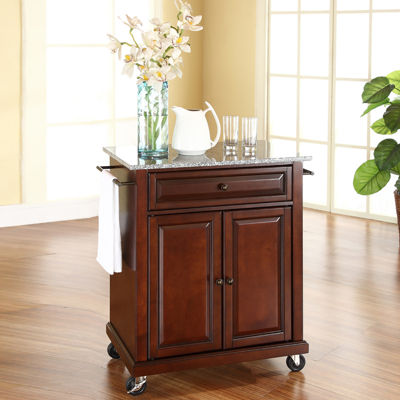 Wellman Granite-Top Kitchen Cart