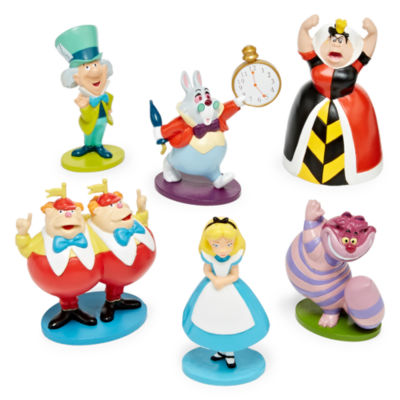 Disney Collection Alice in Wonderland 6-pc. Figure Set
