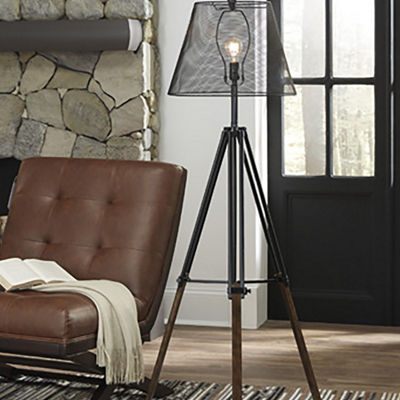Signature Design by Ashley® Leolyn Metal Floor Lamp
