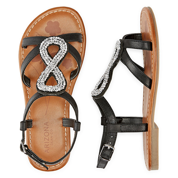 Arizona Eris Girls Strap Sandals - Little Kids/Big Kids