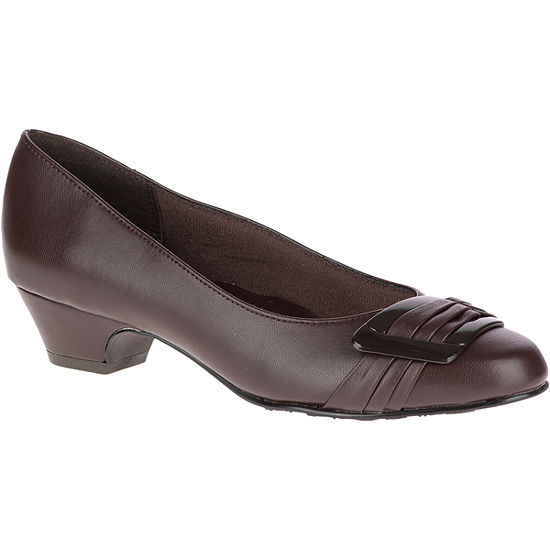 Hush Puppies Womens Pleats Be With You Pumps Closed Toe