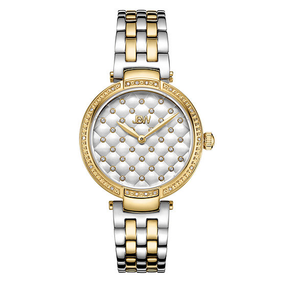 Jbw 18 Diamonds At 18ctw Womens Gold Tone Bracelet Watch J6356d
