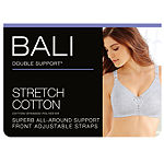 Bali Double Support® Cotton Wireless Comfort Full Coverage Bra-3036