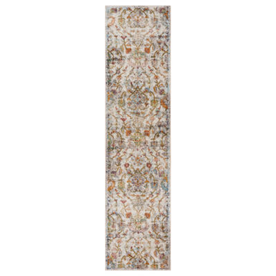 Gala Distressed Jacobean Rectangular Rug