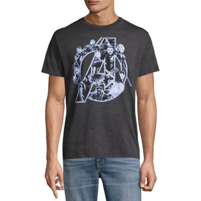 Marvel Short Sleeve Avengers All In Graphic Tee