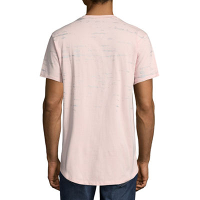 Rocawear 10 Men Short Sleeve V Neck T-Shirt