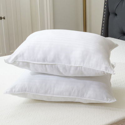 Quiet Sleep Gel Fiber Pillow, Standard (2 Pack)