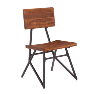 INK + IVY Trestle Set of 2 Dining Chairs