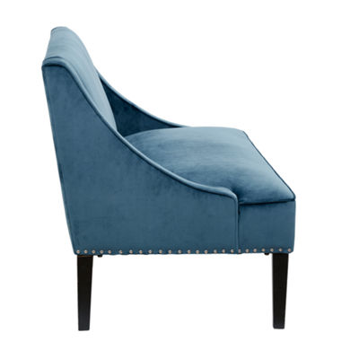 Madison Park Calla Swoop Arm Settee