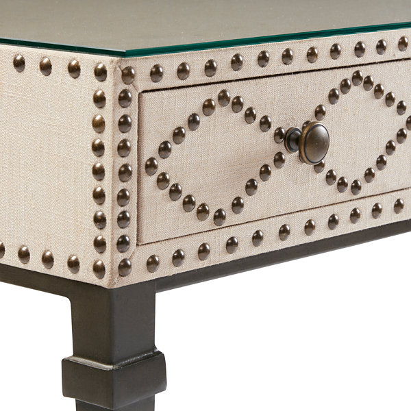 Madison Park Irina Nailhead Writing Desk