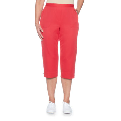 Alfred Dunner Americas Cup High Waisted Capris