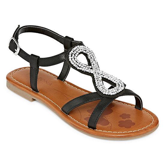 Arizona Eris Girls Strap Sandals - Little Kids/Big Kids