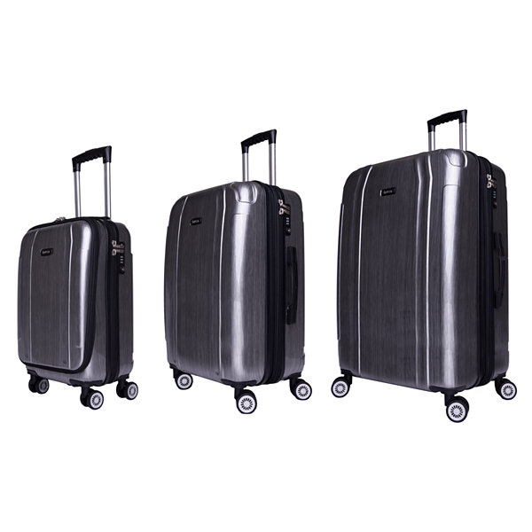InUSA Southworld Lightweight Hardside Spinner 3-pc. Luggage Set